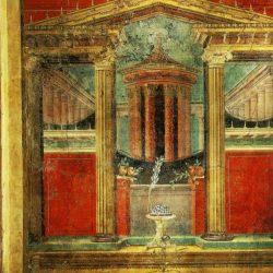 Fresque de Boscoreale (au nord de Pompei), villa de Fannius (environ 100 av. JC.)