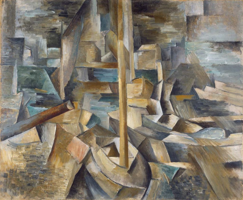 Georges Braque (1882-1963) - Le Port (1909) National Gallery of art, Washington (© National Gallery of art, Washington © Adagp, Paris 2013)
