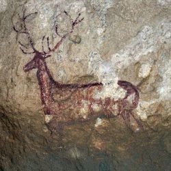 Peinture rupestre (env. 6000 ans av. JC) (Abris de Chimachias, Espagne)