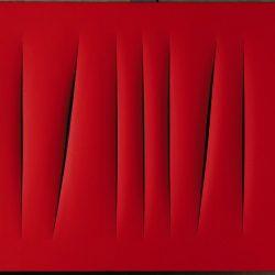 Lucio Fontana (1899-1968) - Concetto spaciale, Attese (1965)