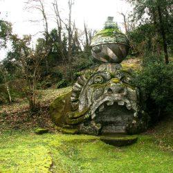 Jardin de Bomarzo - Protée et ou bien Glaucos (photo de Beatroz, Creative Commons)