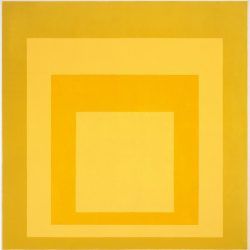 Josef Albers (1888-1976) - Homage to the square: Diffused (1969), Anderson Collection at Stanford University (© 2014 The Josef and Anni Albers Foundation,  Artists Rights Society)