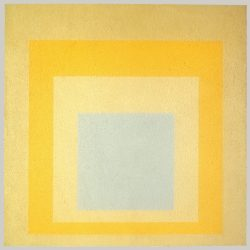 Josef Albers (1888-1976) - Homage to the square: With Rays (1959), Metropolitan Museum of Art