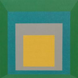 Josef Albers (1888-1976) - Homage to the Square: Apparition (1959), Musée Guggenheim