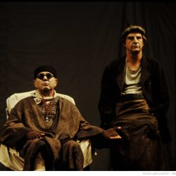 Fin de partie, pièce de Samuel Beckett, photographies de Daniel Cande (Source Bibliothèque nationale de France)