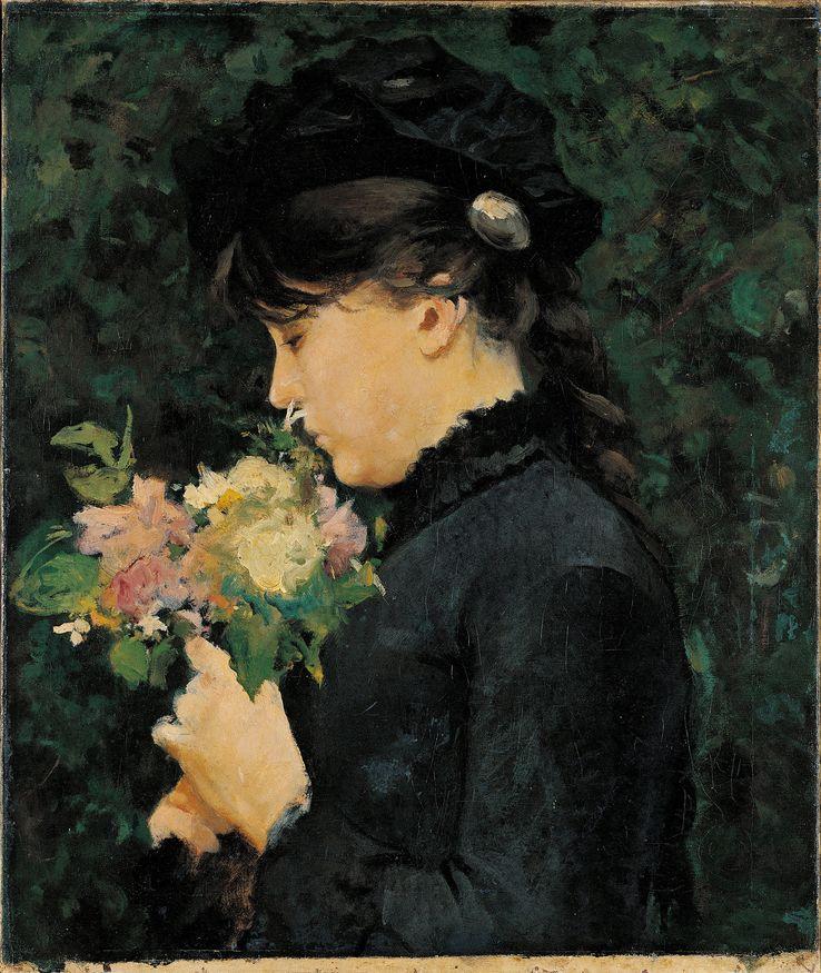 Portrait de Eleonora Tommasi par Silvestro Lega (1826-1895), (CRÉDITLEEMAGE - AFP)