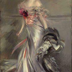 Portrait de Marthe Régnier (1905) par Giovanni Boldini (1842-1931)