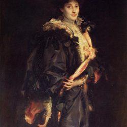 Portrait de Lady Sassoon (1907) par John Singer Sargent (1856-1925)