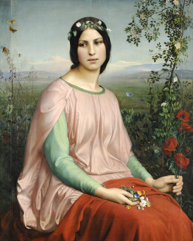 Fleur des champs - Louis Janmot (1845), Musée des beaux-arts de Lyon