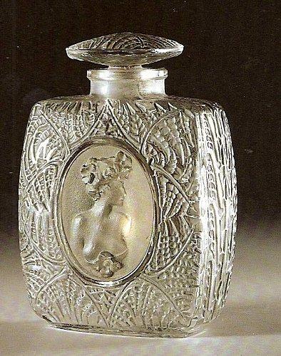 Flacon de parfum, René Lalique (années 20)