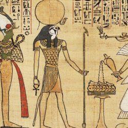 Bras à encens ou «  bras d'Horus »  (musée du Caire, photo Patrick Chapuis.)