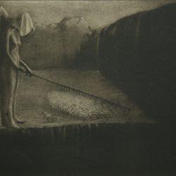 "Alfred Leopold Isidor Kubin (1877-1959), illustration. ""La destinée humaine""."
