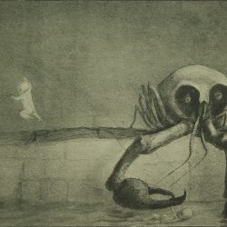 "Alfred Leopold Isidor Kubin (1877-1959), illustration. ""L'heure de la naissance""."