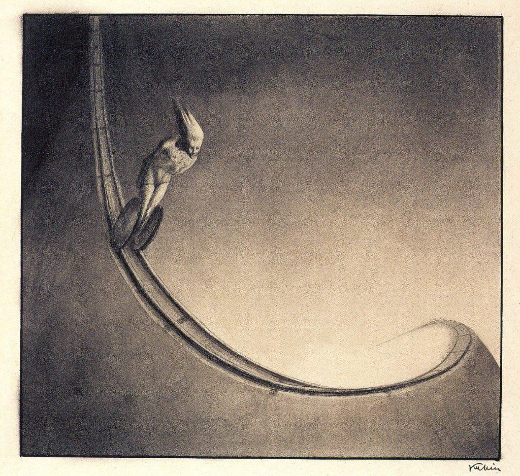 Alfred Leopold Isidor Kubin (1877-1959), illustration.