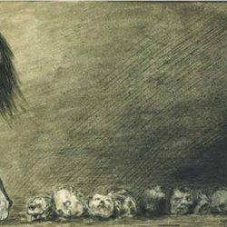 "Alfred Leopold Isidor Kubin (1877-1959), illustration. ""Terre, notre mère à tous""."