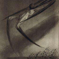 "Alfred Leopold Isidor Kubin (1877-1959), illustration. ""Chaque nuit, un rêve nous rend visite""."