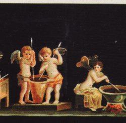 -Fresque des Amours parfumeurs (restitution de l'ensemble)  Dagli Orti.