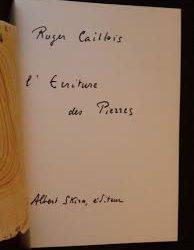 roger-caillois-la-lecture-des-pierres-manuscrit