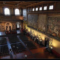Salle des Cinq Cents, Palazzo Vecchio de Florence (photo©Yannick Bénaben)