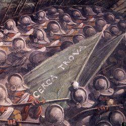 Giorgio Vasari (1511-1574) - Bataille de Marciano (détail)