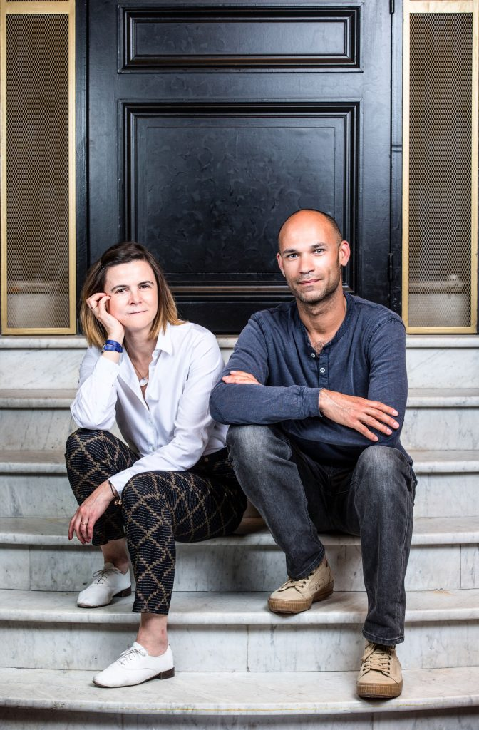 Philippe Baudelocque et Myriam Badault, Directrice du Marketing chez diptyque