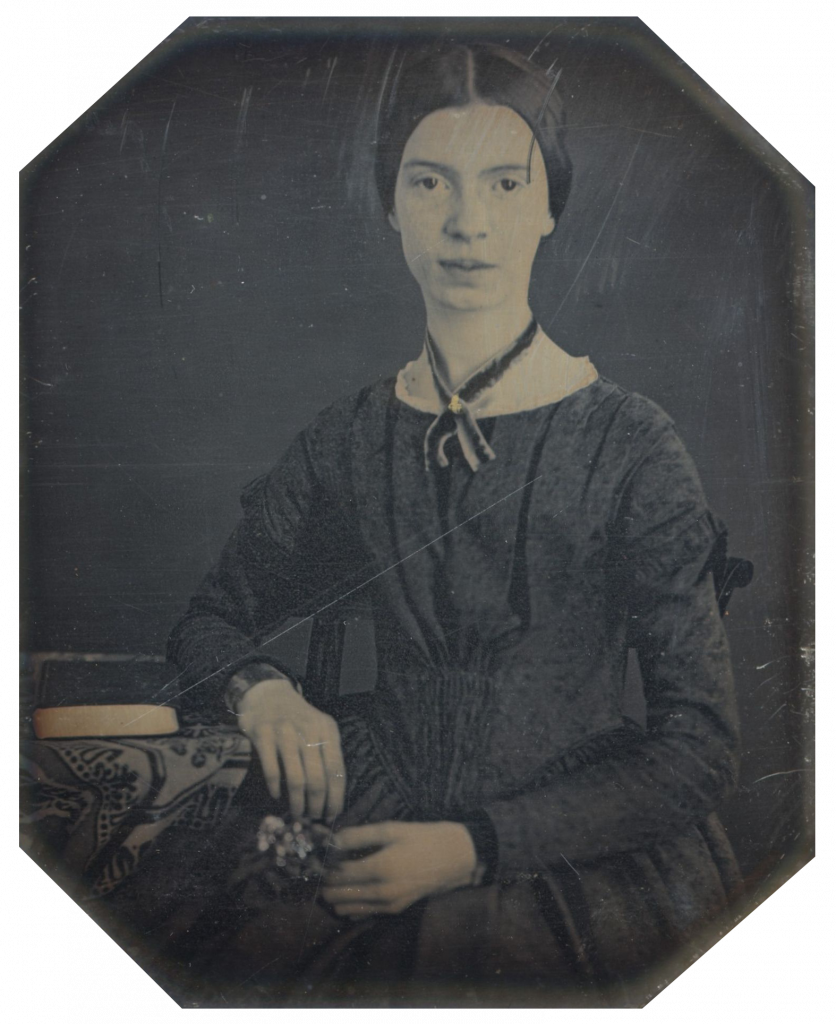 Emily Elizabeth Dickinson (1830-1886), daguerréotype de 1846-47 (Amherst College).