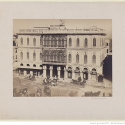Gustave Le Gray (1813-1884) -  Palais Zizinia, Alexandrie, Egypte, 1862, Bibliothèque nationale de France, département Estampes et photographie