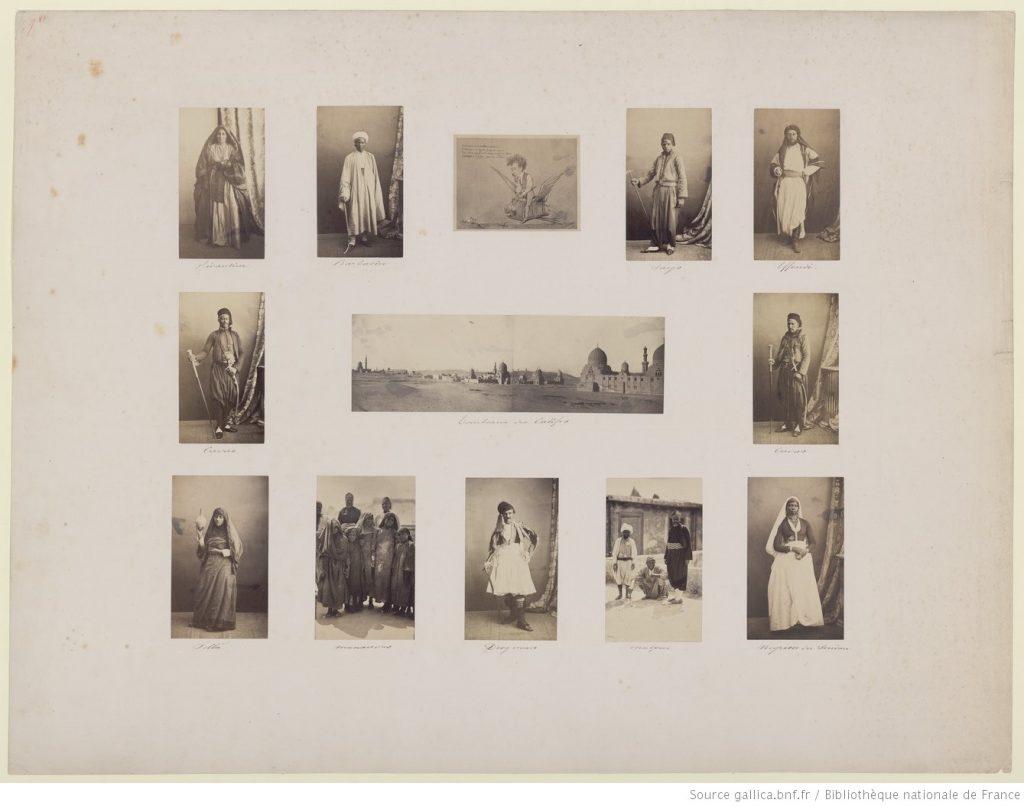 Gustave Le Gray (1813-1884) - Tombeaux des Califes et types, 1862, Bibliothèque nationale de France, département Estampes et photographie