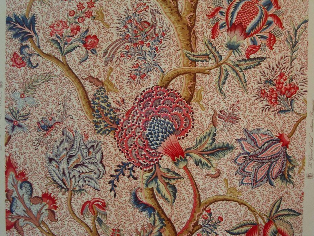 Indienne, Musée du textile de Wesserling, Alsace (source Wikipédia)