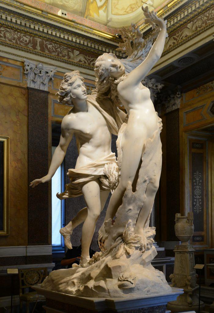 Le Bernin (1598-1680) - Apollon et Daphné (1622-1625), Galerie Borghèse, Rome