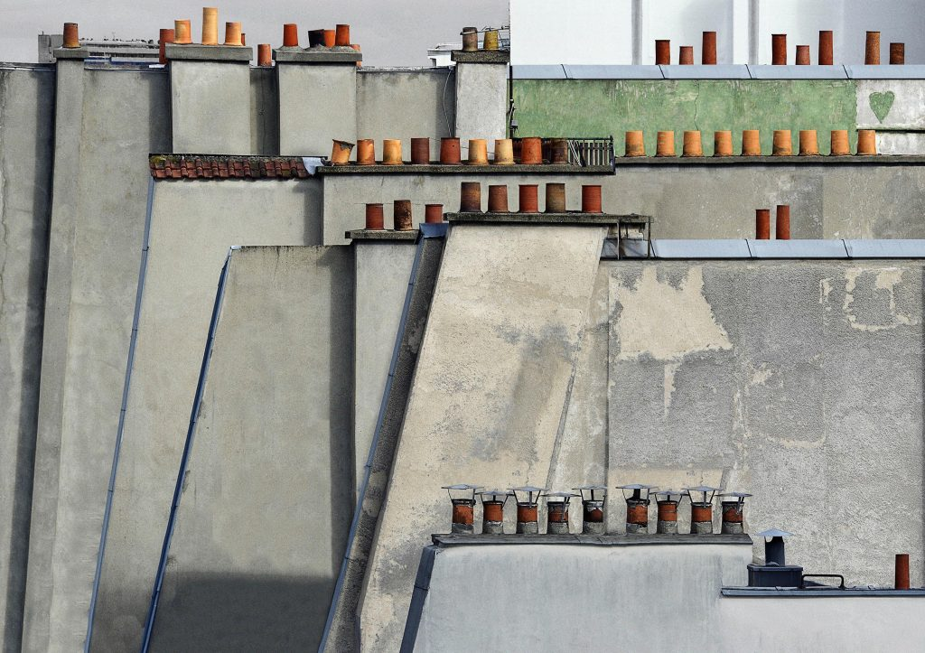 Michael Wolf - Paris roof tops (©Michael Wolf)
