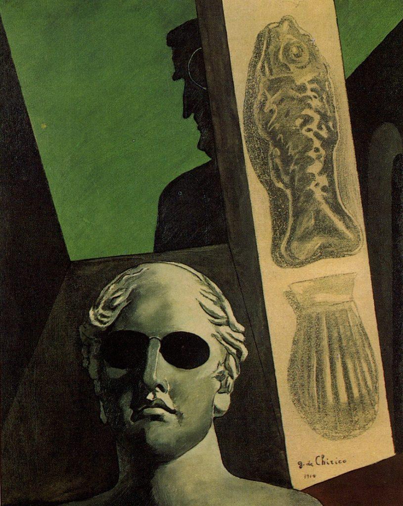 Giorgio De Chirico (1888-1978) - Portrait prémonitoire de Guillaume Apollinaire (1914) Musée national d'art moderne, Centre national d'art et de culture Georges-Pompidou, Paris
