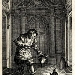 François Boucher (1703-1770) - Amphitrion (gravure) (documents iconographiques de la Bibliothèque Nationale de France)