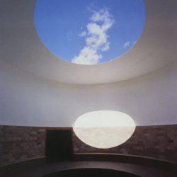James Turrell - l'oeil du cratère (intérieur), Roden Crater, Flagstaff, Arizona.