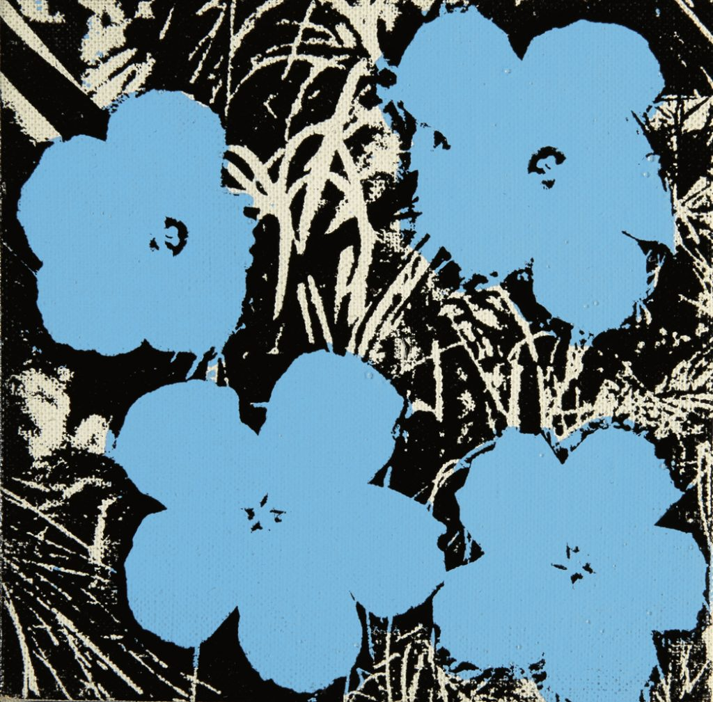 Andy Warhol (1928-1987) - 10 Foot-Flowers (1967) (©Christie's images, 2018).