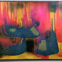 Yves Klein (1928-1962) - FC27 (Peinture de feu couleur sans titre, 1962.