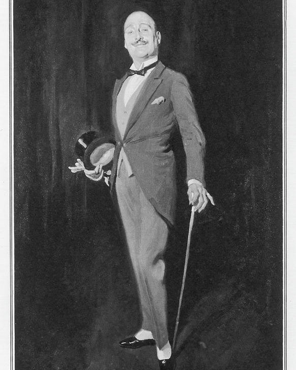 Illustration du détective Hercula Poirot (© Illustrated London News Ltd/Mar)