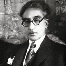 Constantin Cavafy (1863-1933), poète grec de la ville d'Alexandrie, où il est né et décédé le jour de son anniversaire.