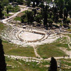 Théâtre de Dionysos Versant sud de l'Acropole, Athènes