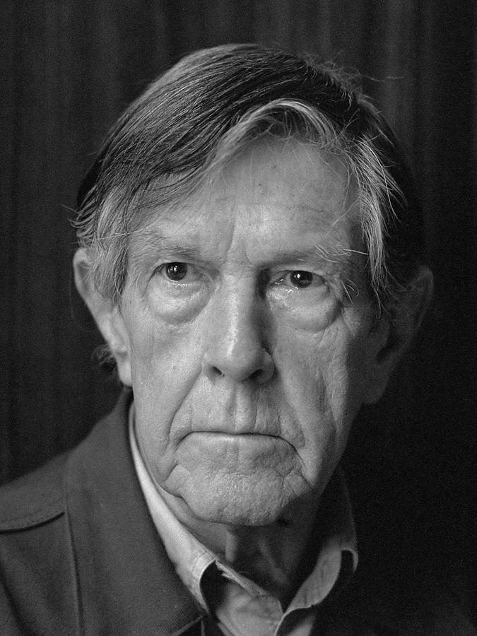 John Cage (1912-1992) en 1988.