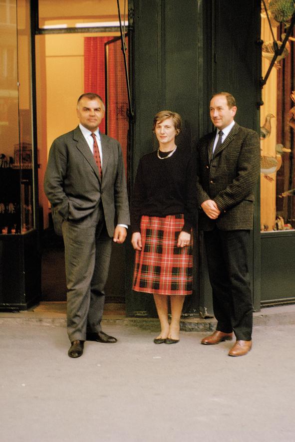Yves Coueslant, Christiane Montadre et Desmond Lnox-Leet