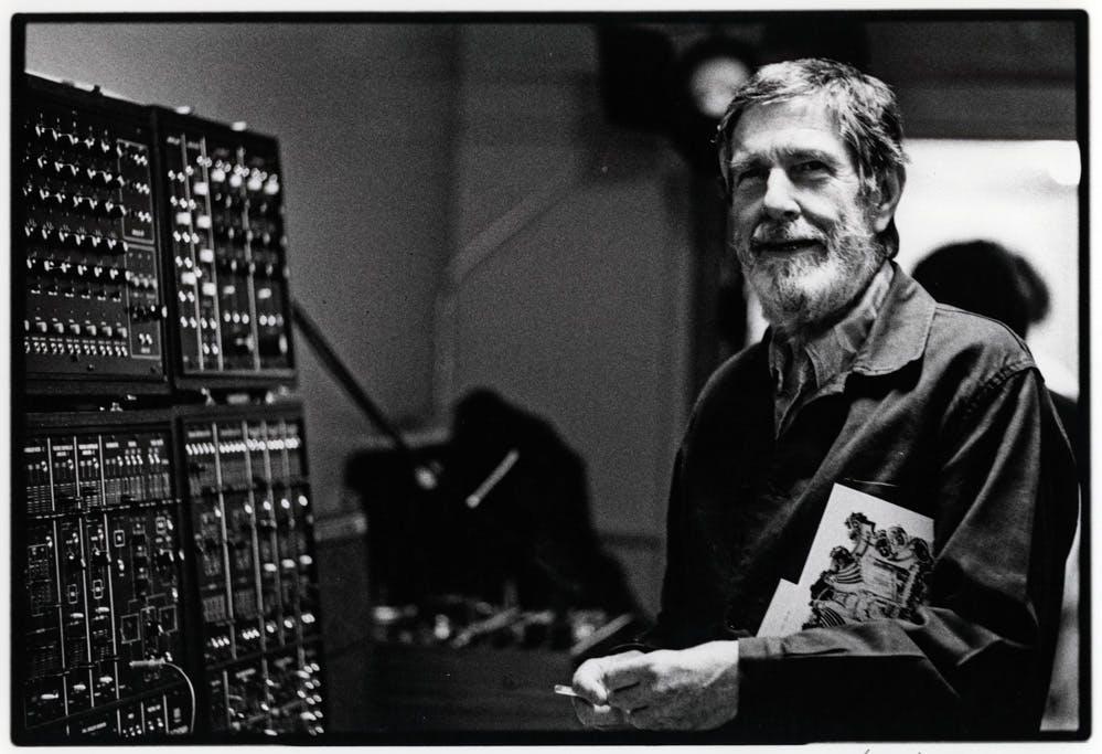 John Cage (1912-1992) en 1978 (photo©Corinto Marianelli)