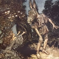 Arthur Rackham (1867-1939) - illustration de A midsummer-Night's Dream de William Shakespeare