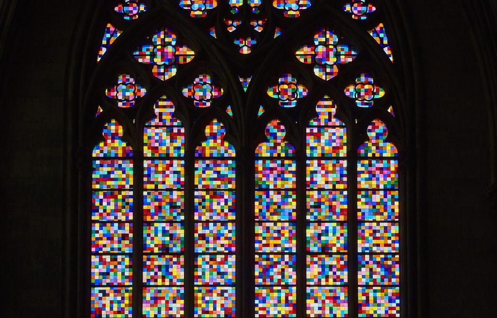 Gerhard Richter - Vitraux du transept sud de la cathédrale de Cologne
